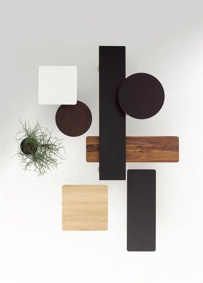 pilotis beistelltisch cor. Black Bedroom Furniture Sets. Home Design Ideas