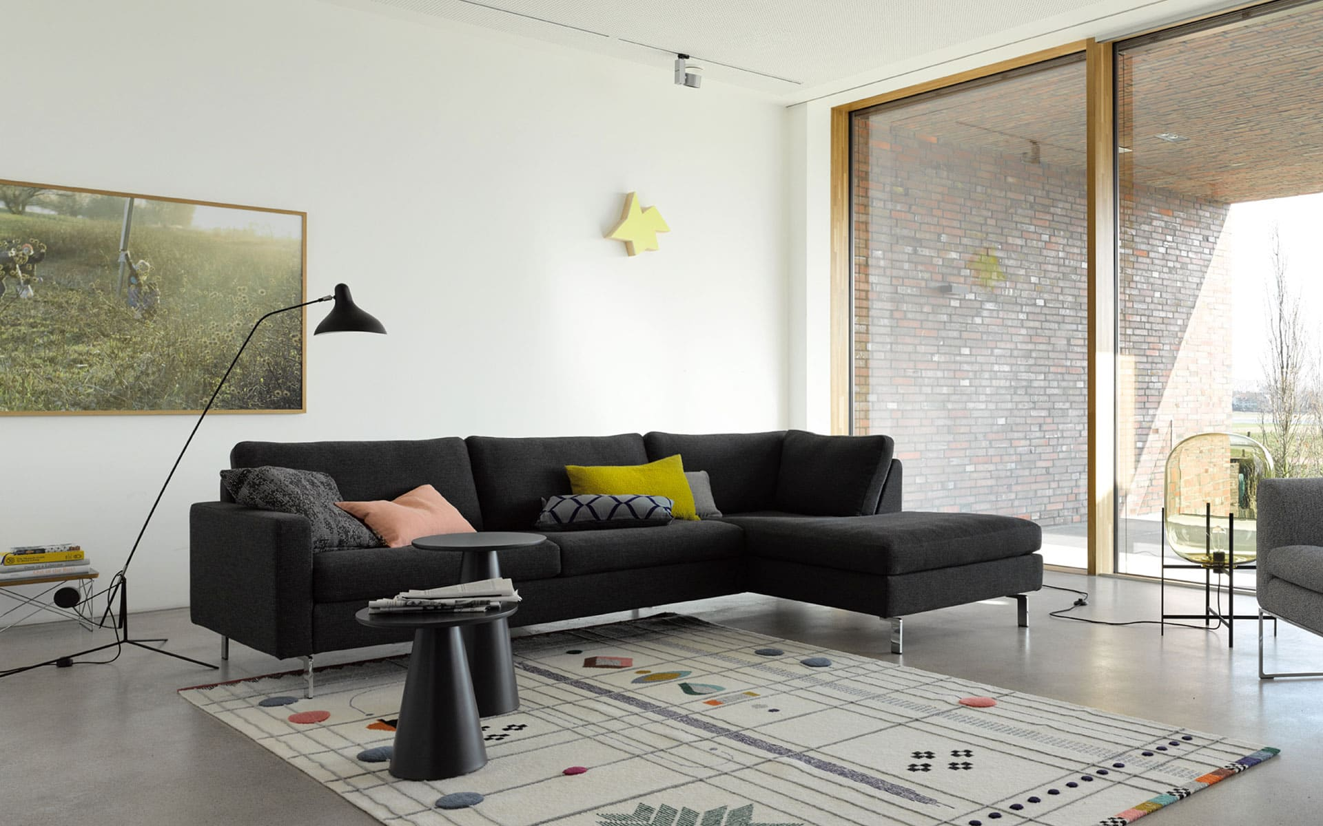 Conseta sofa cor - Braunes ecksofa ...