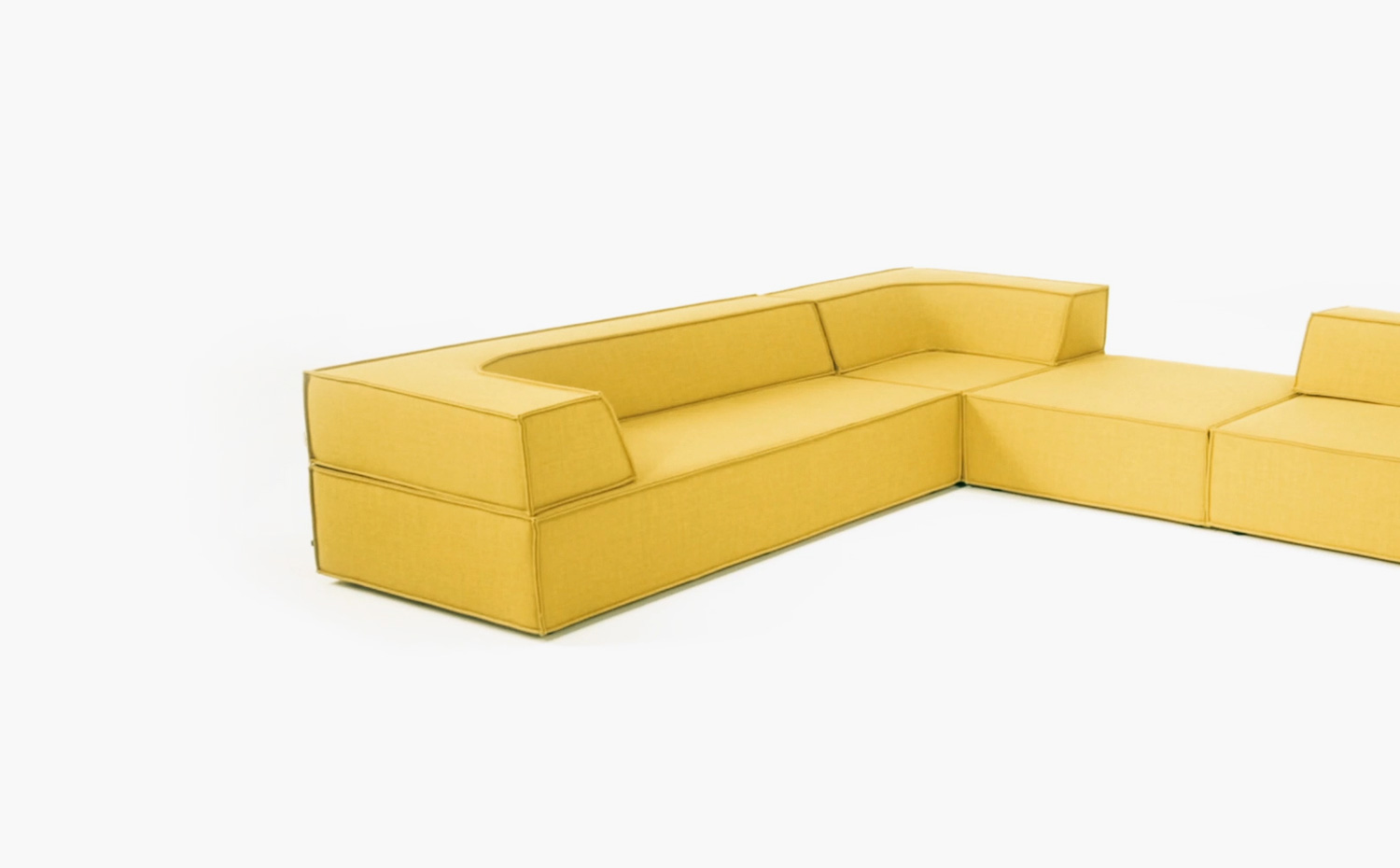 cor sofa mell lounge sectional sofa by cor design jehs laub thesofa. Black Bedroom Furniture Sets. Home Design Ideas
